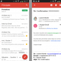 Gmail 5.0 pour Android