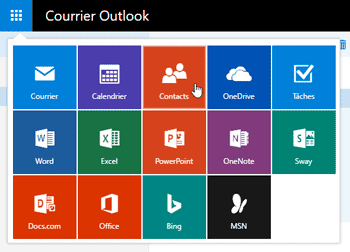 Contacts Outlook.com