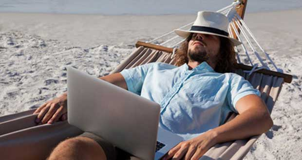 Email vacances