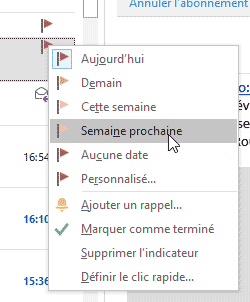 Suivi des messages Outlook