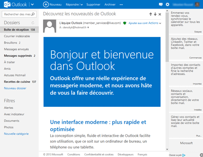 outlook-com-bienvenue