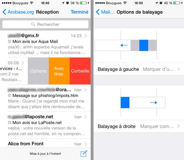 Balayage iOS 8