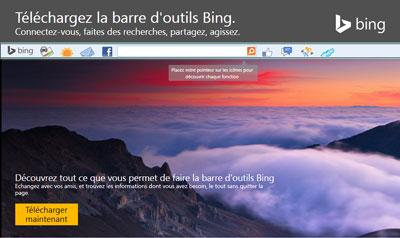 Télécharger la Bing Toolbar