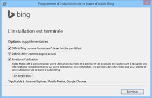 Installation de Windows Live