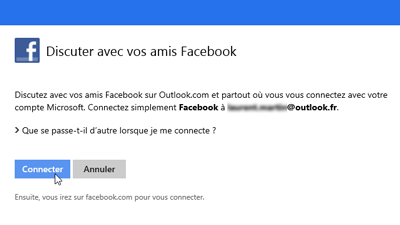 Connecter  Facebook
