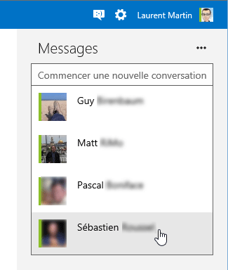 Chat Outlook.com