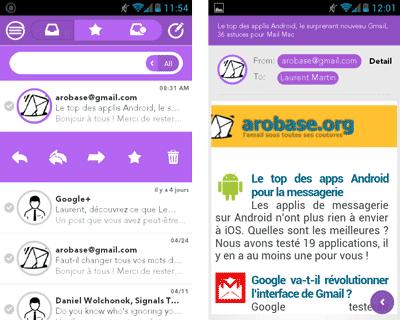 CloudMagic pour Android
