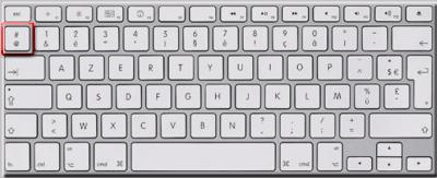 Comment taper l 39 arobase sur le clavier for Comment faire un dessin sur ordinateur