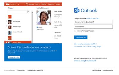 Connexion Outlook.com