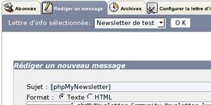 phpMyNewsLetter