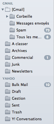 Dossiers IMAP des comptes