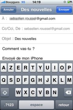 Texte e-mail