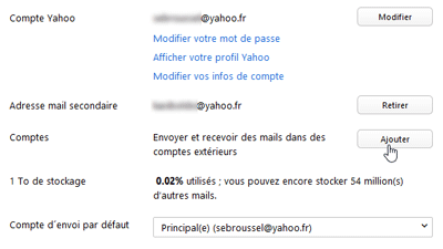 Comptes Mail