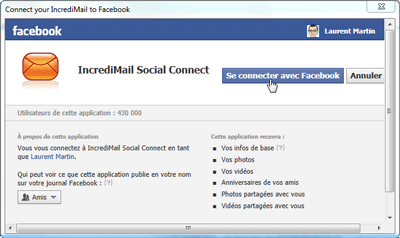 IncrediMail Social Connect
