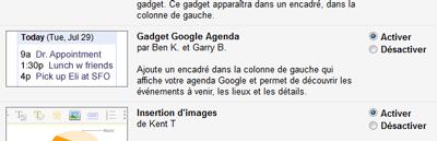 Gadget Agenda