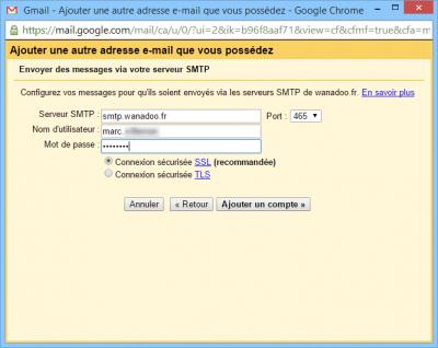 Serveur SMTP