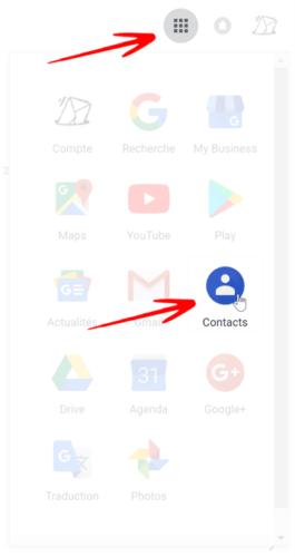 Contactts Gmail