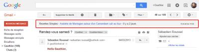 Gmail - Zone Extraits du web