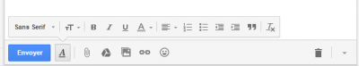 Options de mise en forme Gmail