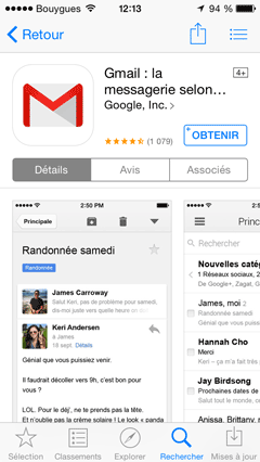 Gmail - App Store