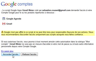Google comptes