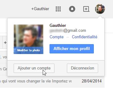Ajouter un compte Gmail