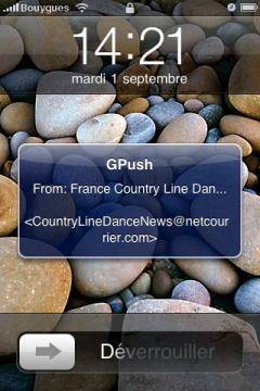 Notification GPush