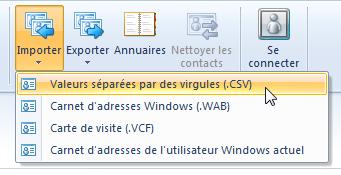 Dans Windows Live Mail 2009 Cliquez Sur Licone Afficher Le