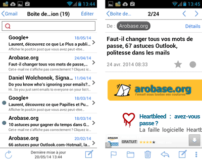 InoMail pour Android