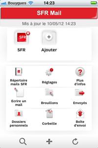 Accueil SFR Mail