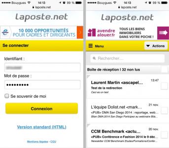 LaPoste.net mobile