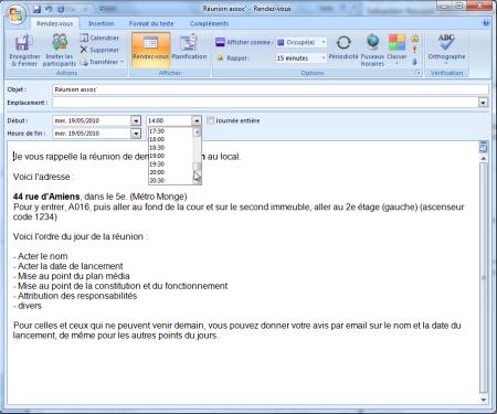 créer une adresse mail pour site de rencontre)
