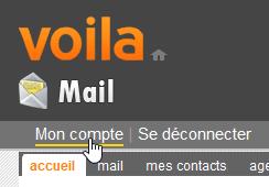Mon compte Voila