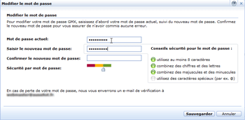 Informations compte Hotmail