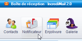 notificateur incredimail