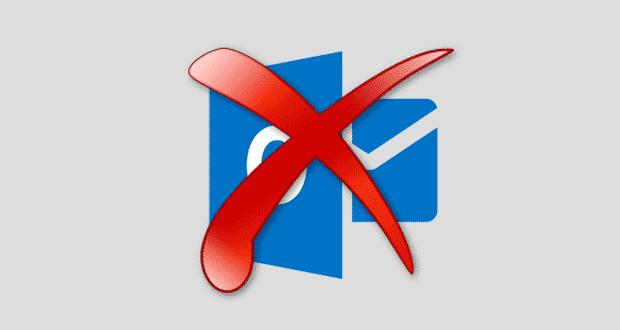 Supprimer compte Outlook.com