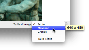 Taille d'image