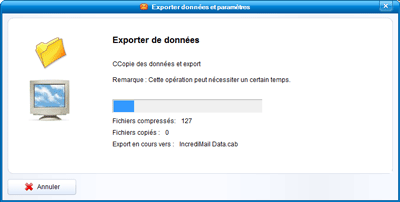 Export de données