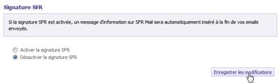 Signature SFR