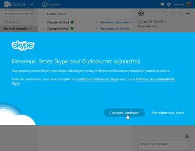Plug-in Skype