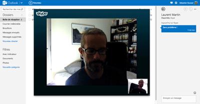 Skype sur Outlook.com