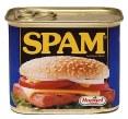 Une boîte de spam