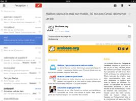 Gmail pour iPad