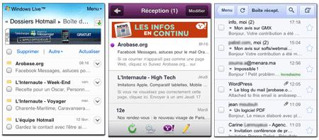 webmails mobile