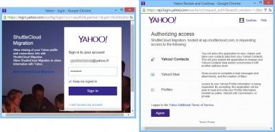 Connexion à Yahoo Mail