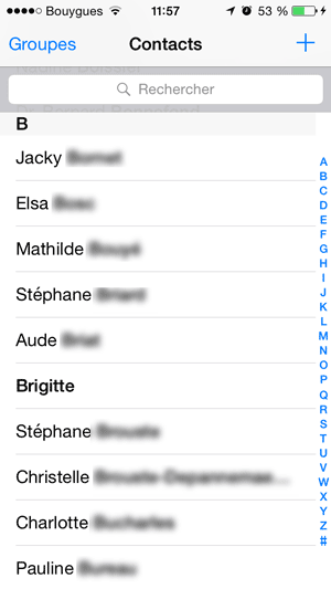 gmail contacts on iphone synchroniser ses contacts gmail sur iphone ou 14196