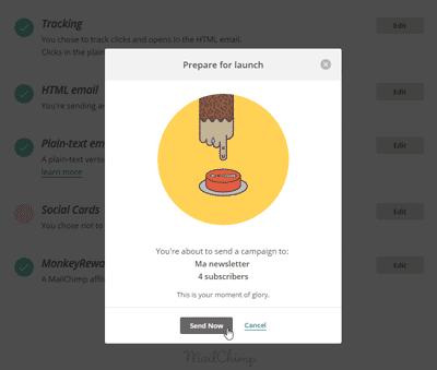 MailChimp - Send