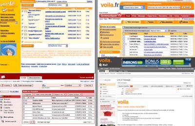 Voila - versions