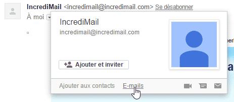 Gmail - Afficher tous les e-mails