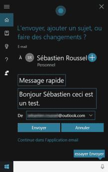Cortana - Email
